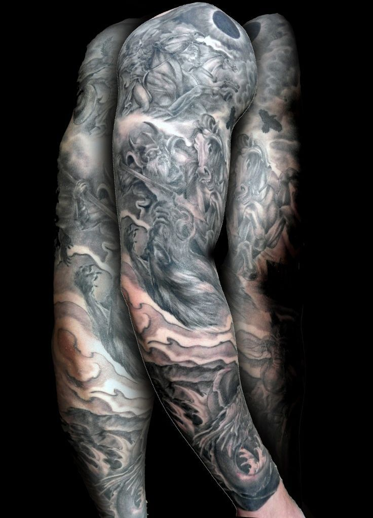 48 best icelandic tattoos images on pinterest icelandic for Norse tattoo sleeve