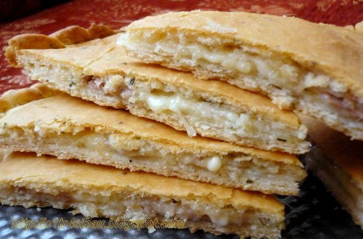 Citra's Home Diary: Stuffed Tuna Pizza