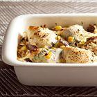 Een heerlijk recept: Makreel met aubergine uit de oven