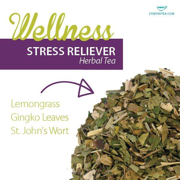 Healthy and delicious, our herbal teas are crafted with herbs, fruits and spices that will compliment your journey to wellness. Is Stress Reliever on your wish list?