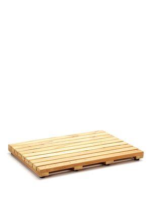 Scandinavian Bath teak bath mat