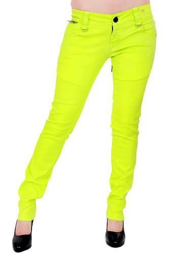 Neon Pants....these in pink? Lol