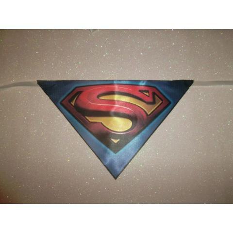 Bandanas , Lenços Pet , Kit Super Heróis