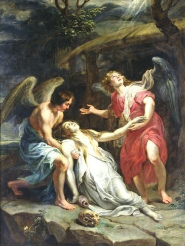 The Ecstasy of Mary Magdalene by Peter Paul Rubens