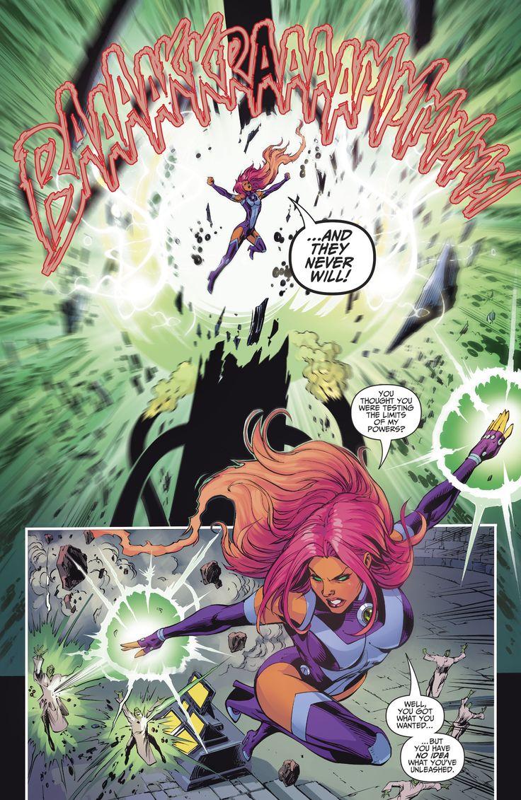 Teen Titans Starfire