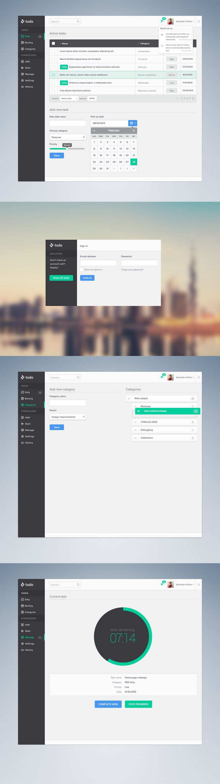 Productivity Platform by ~skirilov on deviantART