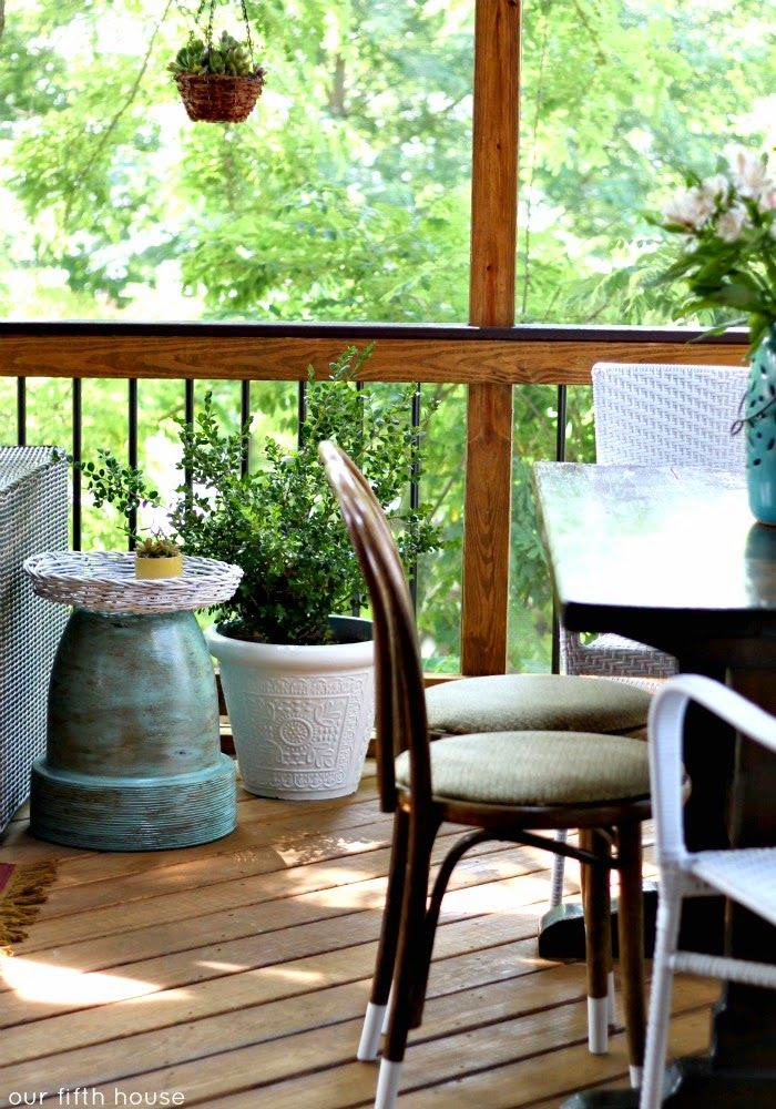 Patio Or Screened Porch: 125 Best Images About Screened-in Deck And Patio Ideas On