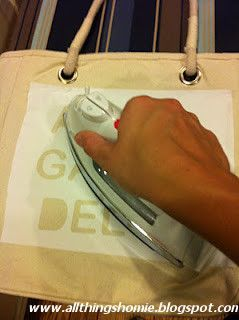 : Freezer Paper is AMAZING!  Freezer Paper works as a stencil. You cut your design out or use a Cricut or Silhouette and iron the paper onto the fabric. It seals all the edges so your paint goes on nicely and it peels off so cleanly, you would never know it was there!