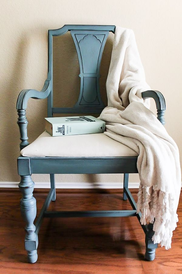 How To Re Cover A Chair Cushion