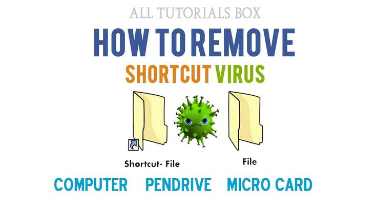 How to Remove Shortcut Virus 2017
