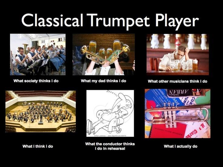 Trumpet Humor....pretty funny (and sadly true). | Trumpet ...
