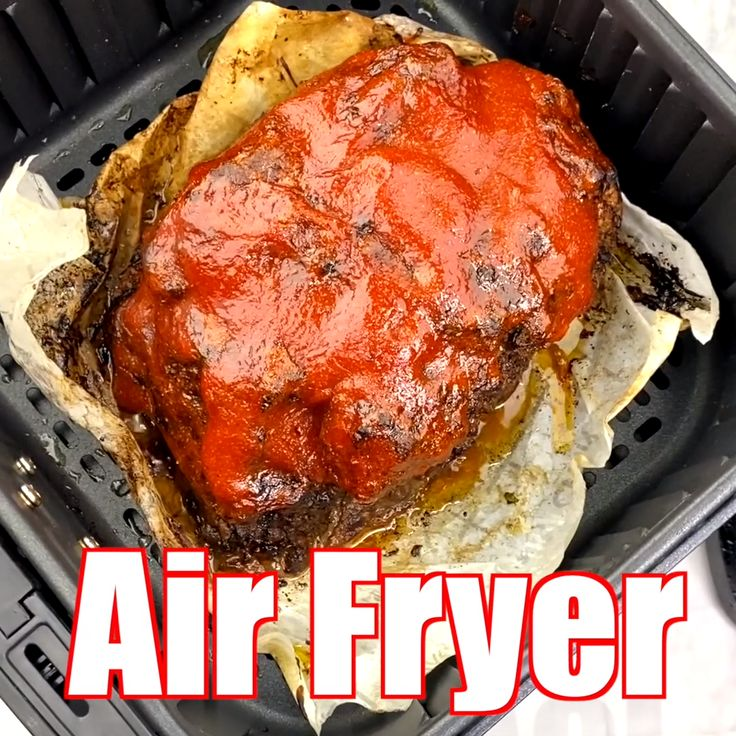 Air Fryer Mini Chicken Meatloaf Recipe Chicken
