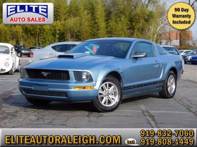 Used 2005 Ford Mustang V6 Deluxe Coupe for Sale in Raleigh NC 27603 Elite Auto Sales $8k 77k miles