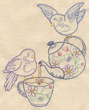 tea birdies
