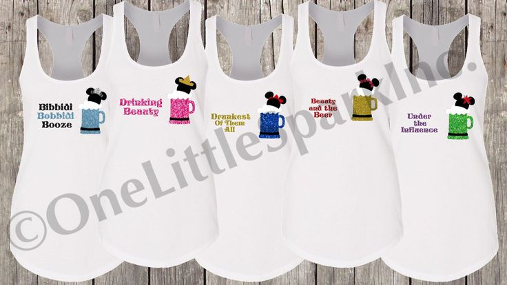 Epcot food and wine / mickey beer / minnie beer  disney drinking shirt  princess drinking team / disney princess drink shirt drinking beauty by Onelittlesparkinc on Etsy https://www.etsy.com/listing/527248625/epcot-food-and-wine-mickey-beer-minnie