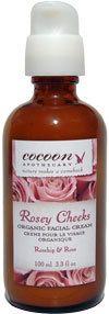Rosey Cheeks Organic Facial Cream. EWG rating 0.