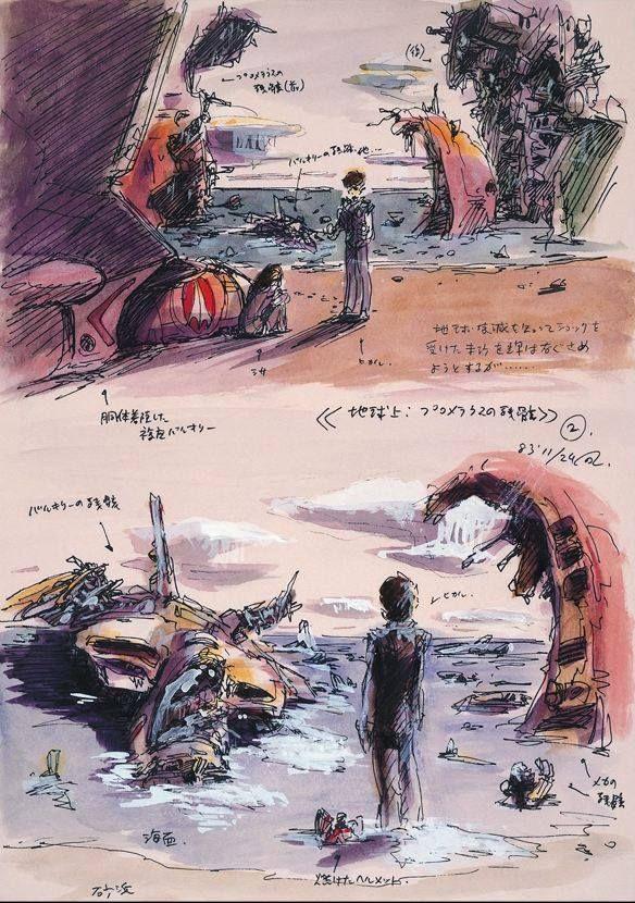 DYRL concept sketches Macross Robotech