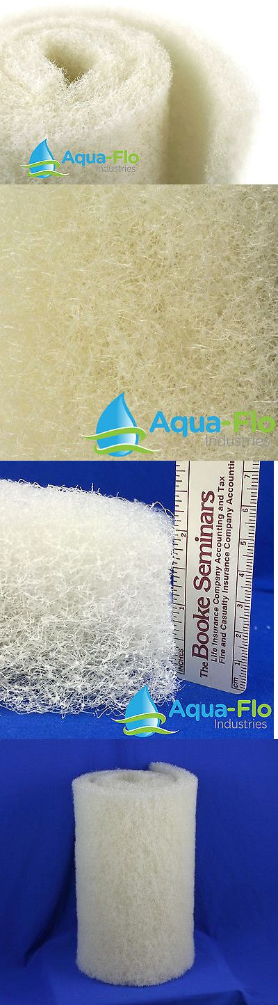 Pond Filter Media and Accs 85757: Coarse Filter Media Medium Density 2 X 28 X 59 Cream Beige For Aquascape Mats -> BUY IT NOW ONLY: $42.99 on eBay!