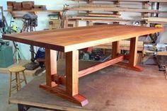 Offerman Woodshop » Mahogany Dining Table
