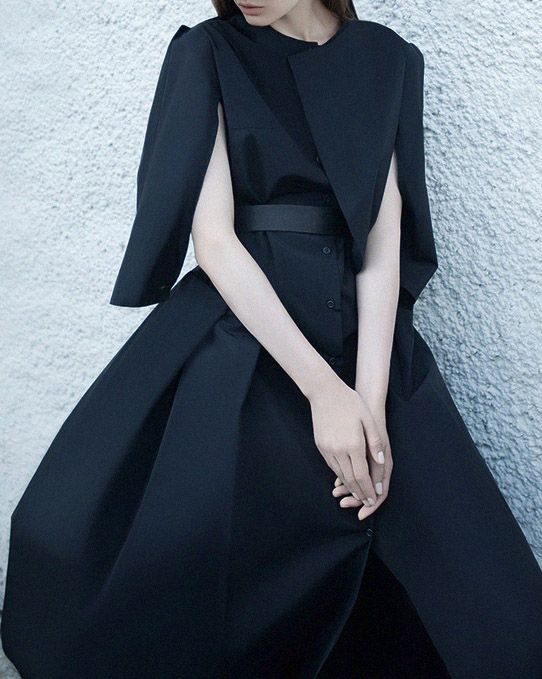 inspiration for www.duefashion.com  Ukraine Girl | Ph.Yulia Zhdan, Coat by Elena Burenina.