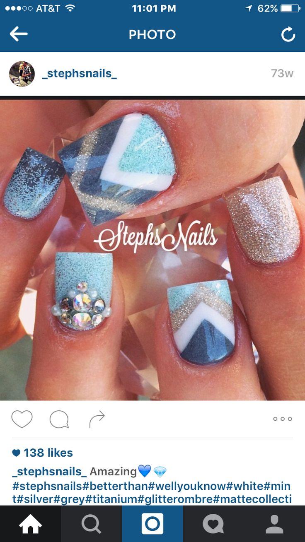 Die besten 48 Nails Bilder auf Pinterest | Haare und Beauty