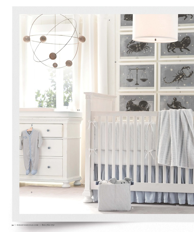 Restoration Hardware Baby & Child  Nursery themes  Pinterest