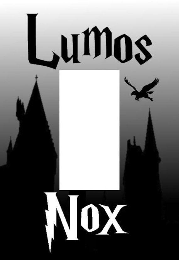 Harry Potter Lumos Nox Single Rocker Style Light Switch Plate Cover Em 2021 Cartaz Harry Potter Harry Potter Harry Potter Adesivos