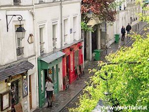 The streets of Montmarte :-)