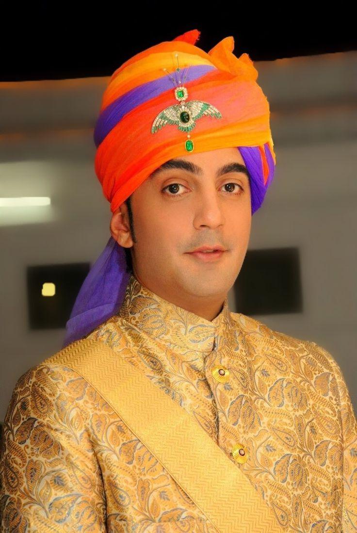 Yuvraj Surya Vijay Singh of Sahaspur, Uttar Pradesh. He is the son of Raja Chandra Vijay Singh of Sahaspur and Rao Rani Harsh Kumari of Jodhpur.
