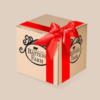 A gift meat box packed full of Somerset cheeses and meats. A great meaty treat! Fresh free range meat boxes from Battens Farm. Order your meat online with next day delivery available.