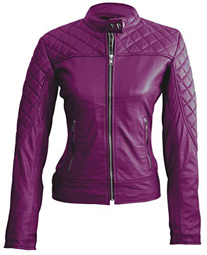 Leather Skin Women Purple Shoulder Quilted Genuine Leather Jacket L Purple Leather Skin http://www.amazon.com/dp/B0120AMEO2/ref=cm_sw_r_pi_dp_Xl6Gwb09WCA2X