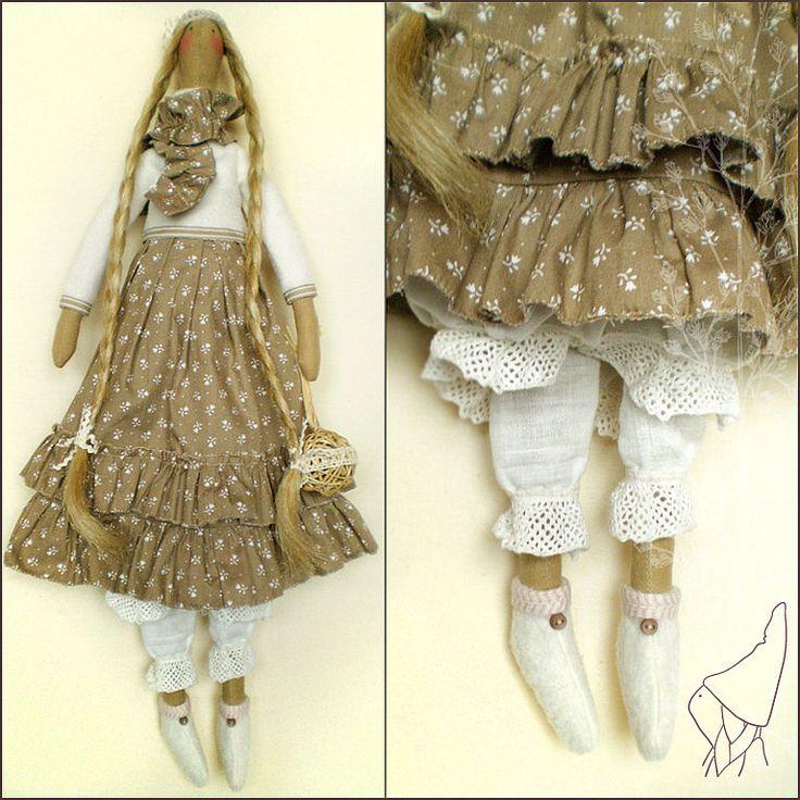 Куклы Тильды ручной работы. Ярмарка Мастеров - ручная работа Тильда Луиса. Handmade.