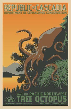 Endangered Tree Octopus