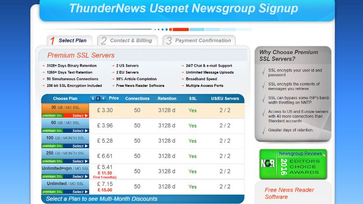 ThunderNews   ThunderNews may not be the most well-known Usenet service on the market but its vying for your attention as a premium newsgroup offering that works with thousands of third-party servers across the world to provide a plethora of options.  What it does  The service offers a tempting combination of solid connection speeds lengthy article retention and high completion rates. What sets ThunderNews apart from other services out there is that it provides Usenet capabilities that are…
