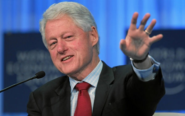 Best President in history! William Jefferson Clinton.  Oh, how I miss him.