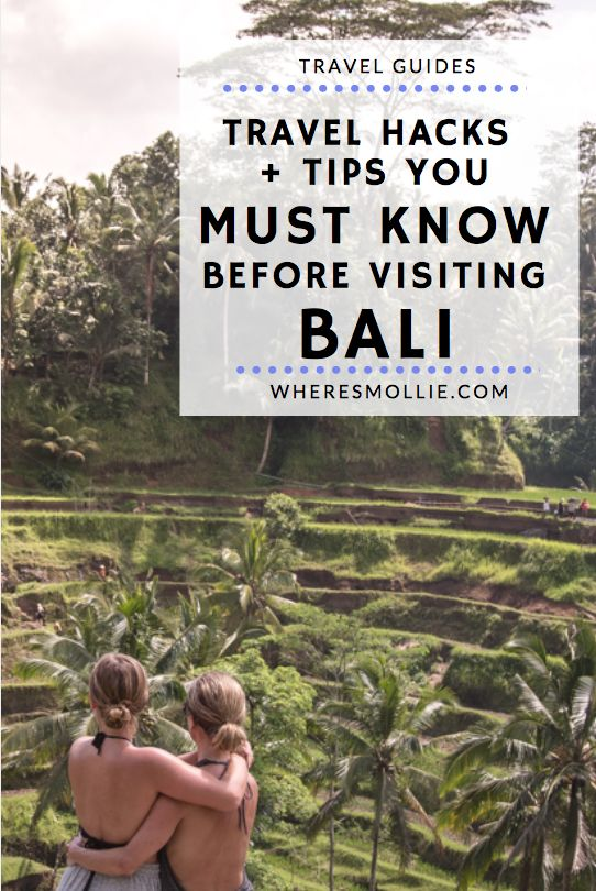 Top Tips And Travel Hacks For Bali Indonesia | Where's Mollie? A Travel and Adventure Lifestyle Blog