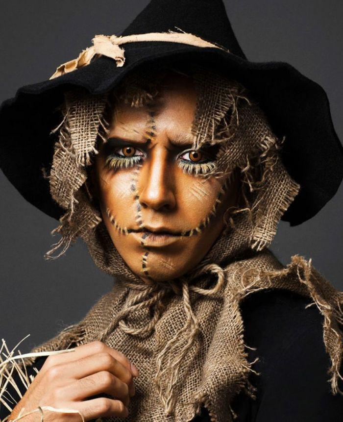Die besten 25 halloween schminkideen ideen auf pinterest - Halloween schminkideen ...