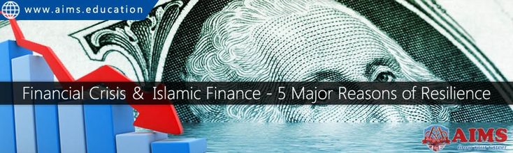 Let's understand the financial crisis and Islamic finance, and find out top five major reasons of resilience of financial crisis in shariah finance. Ref: https://twitter.com/courses07/status/836187374300332035