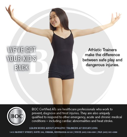 18 best Promoting AT awareness images on Pinterest Athletic - high school athletic trainer sample resume