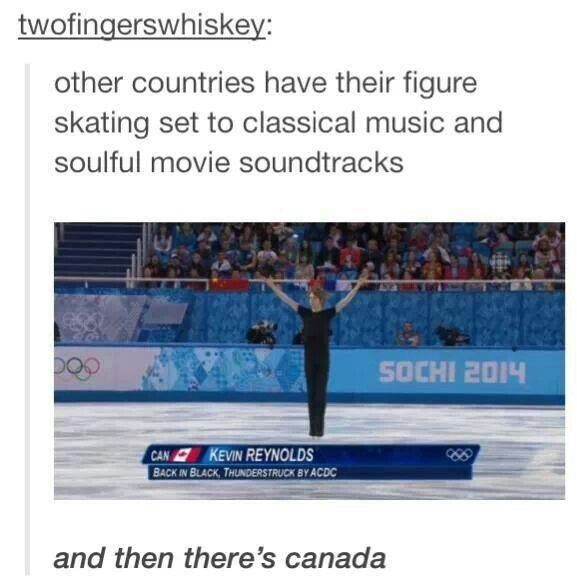 I love the jokes about Canada. I love Canada. CANADIANS ARE AWESOME.