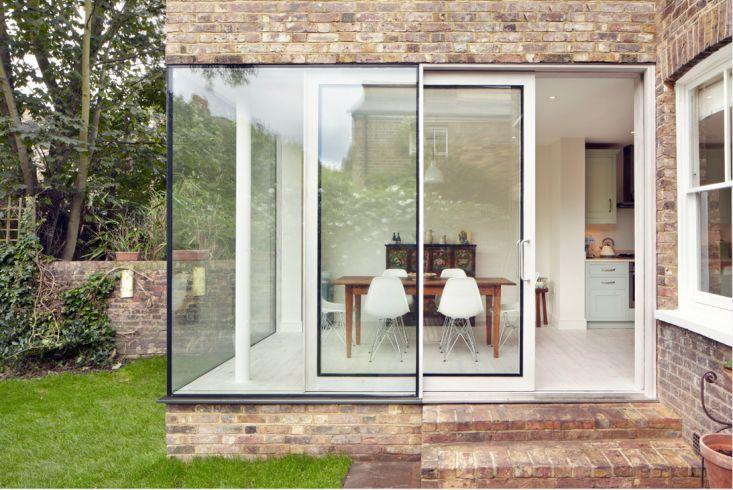 corner windows/sliding doors