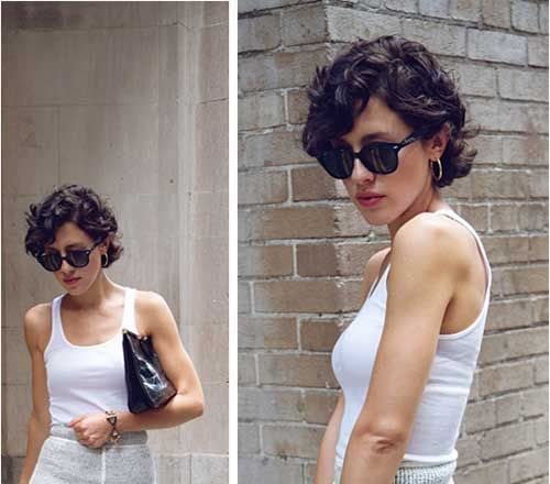 very short pixie cut curly hair - Google Search