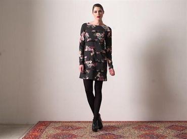 Fehu Floral Tiered Dress - £219 GBP style number 52821 http://thelittleblackdressboutique.co.uk/products/188666--fehu-dress-52821.aspx
