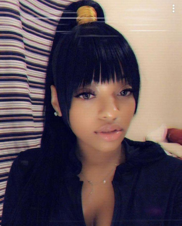 Black Women S Hairstyles With Braids Blackwomenshairstyles Blackhairstyles In 2020 Hair Ponytail Styles High Ponytail Hairstyles Hair Styles
