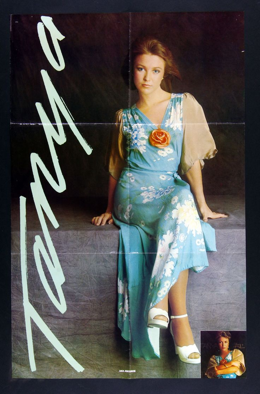 Tanya Tucker Her's Some Love 1976 New Album Promo Vintage Poster 22 x 34