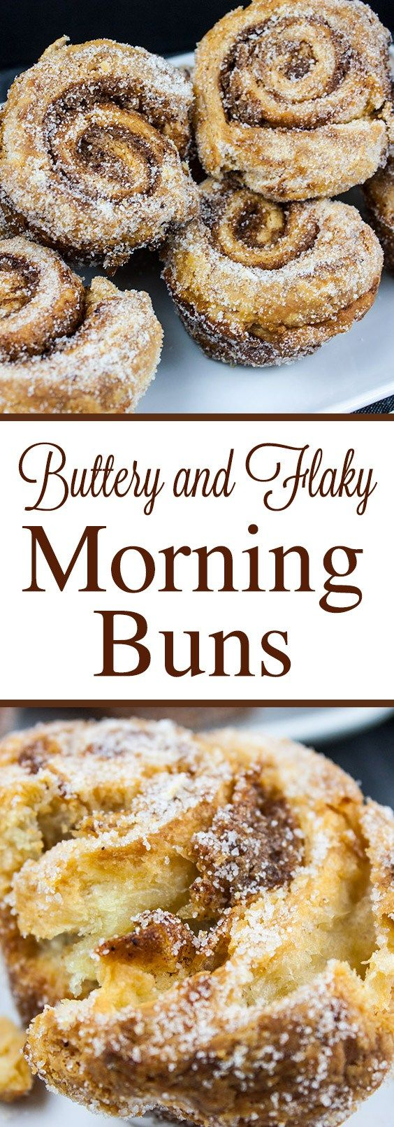 Morning Buns - Crispy outer layers, soft buttery inner layers of pastry dough sprinkled with a cinnamon orange filling that's perfect for Christmas or Thanksgiving morning.