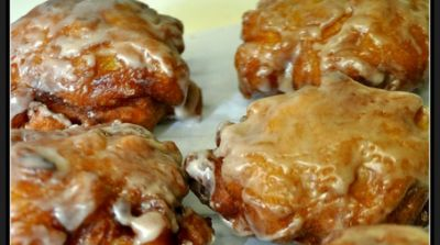 Country Style Fried Amish Apple Fritters…A Country Girl's Recipe.