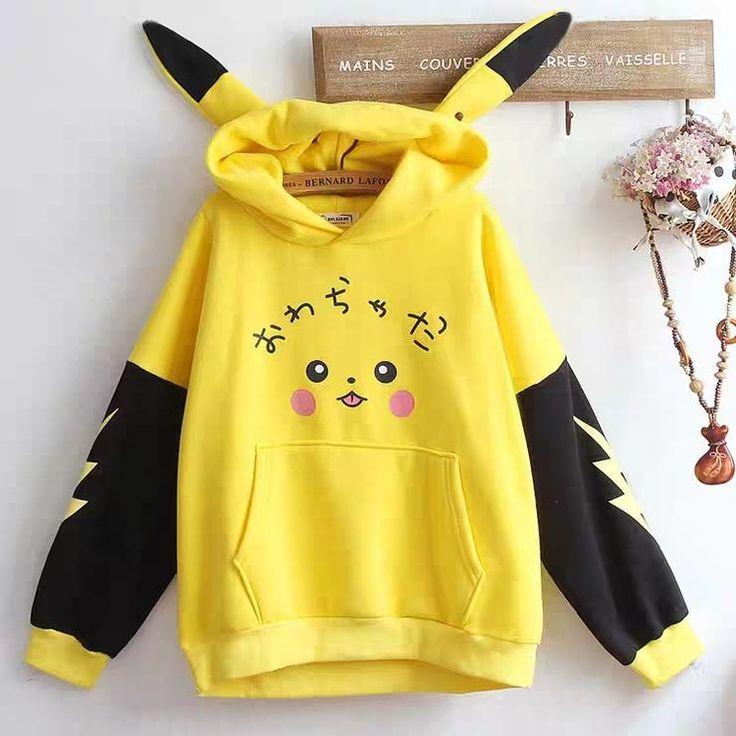 Cute Pikachu Hoodie