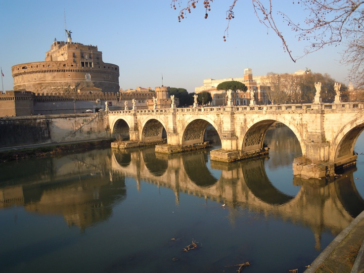 castle & tiber river!