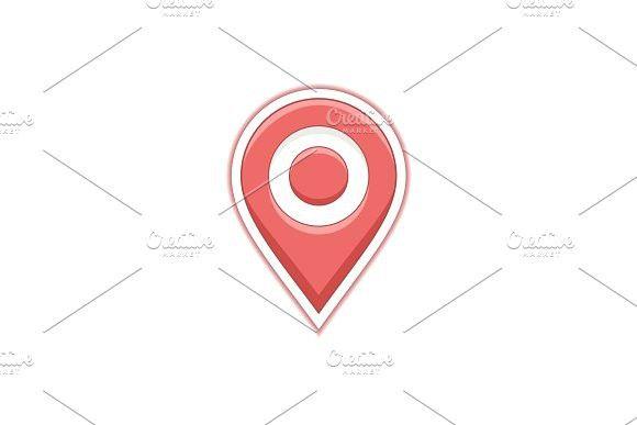 Geo map pin. Illustrations